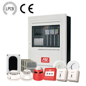 LPCB Approved addressable fire alarm system