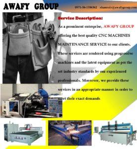 CNC Router, Laser, Water jet Plasma Repairing services